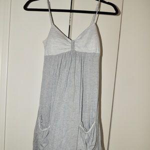Papaya Grey T-Shirt Dress